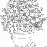 Advanced Coloring Pages Flowers Creative Printable Flower Coloring Pages Best Advanced Coloring Books