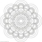 Advanced Coloring Pages Flowers Pretty Flower Mandala Coloring Pages Line Animal – Kryptoskolenfo