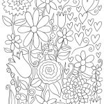 Advanced Coloring Pages Flowers Wonderful Coloring Coloring Pages Printable Free for Adults Colouring In