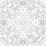 Advanced Coloring Pages Flowers Wonderful Free Mandala Coloring Pages for Kids – Graetdave