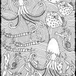 Advanced Coloring Pages Pretty Advanced Coloring Pages for Adults Sea Food