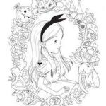 Alice In Wonderland Coloring Book Disney Awesome 307 Best Disney Princess Coloring Pages Images In 2019