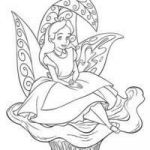 Alice In Wonderland Coloring Book Disney Best Of Mouse Sewing Clip Art