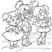 Alvin and the Chipmunks Coloring Book Amazing 21 Best Coloring Pages Alvin & the Chipmunks Images In 2016
