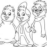 Alvin and the Chipmunks Coloring Book Creative Free Printable Chipettes Coloring Pages for Kids