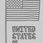 America Flag Coloring Page Best United States Flag Coloring Pages Printable Kanta