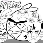 Anger Coloring Pages Brilliant Angry Birds Coloring Pages