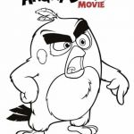 Angry Bird Color Book Inspired Incredible Coloring Pages Bird Pdf Picolour