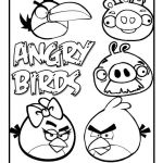 Angry Bird Coloring Book Wonderful Free Printable Angry Bird Coloring Pages for Kids