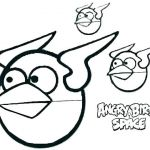Angry Bird Coloring Page Exclusive Angry Birds Space Coloring Page – Lejardindemarmousetfo