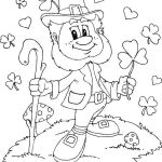 Angry Bird Coloring Page Inspirational √ Bird Coloring Pages Free and Shamrock Coloring Page Leprechaun