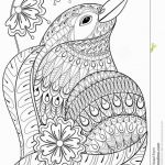 Angry Bird Colouring Amazing Lovely Adult Easter Coloring Pages Fvgiment