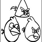 Angry Bird Colouring Best Lovely Angry Bird Black Bird Coloring Pages – Nicho