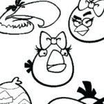 Angry Bird Colouring Elegant Angry Birds Color by Number Angry Birds Color by Number Coloring
