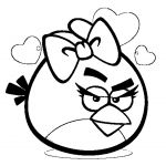 Angry Bird Colouring Excellent Angry Birds Coloring Sheet
