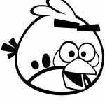 Angry Bird Colouring Inspiration Angry Birds for Coloring