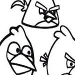 Angry Bird Colouring Inspiring Beautiful Black Angry Bird Coloring Pages – Doiteasy