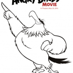 Angry Bird Colouring Pretty Free Angry Birds Coloring Pages Printables Esy Crafts