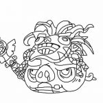 Angry Bird Pigs Coloring Pages Awesome Angry Birds Bad Piggies Coloring Pages Fresh Angry Birds Drawing