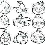 Angry Bird Pigs Coloring Pages Brilliant Angry Birds Color by Number – Childabuselawfo