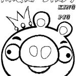 Angry Bird Pigs Coloring Pages Creative Angry Birds Coloring Pages