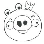 Angry Bird Pigs Coloring Pages Inspirational Angry Birds Drawing Templates – Rpmurphy