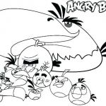 Angry Birds Coloring Games Inspired Coloring Pages Angry Birds Red Movie for Colouring Baby Bird