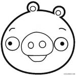 Angry Birds Pigs Coloring Pages Inspiration Angry Birds for Coloring