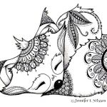 Animal Coloring Pages Pdf Awesome Coloring Pages Wolfs Elegant Wolf Coloring Page Awesome Animal