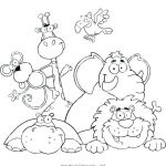 Animal Coloring Pages Pdf Creative Animal Printable Coloring Pages Coloring Pages Zoo Animals Animal