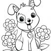 Animal Coloring Pages Pdf Inspired Coloring Page Coloringagehenomenal Dogages for Adultsrintable Cute