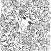 Anime Coloring Books Creative Beautiful Cute Anime Coloring Page 2019