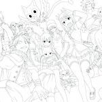 Anime Coloring Books for Adults New Printable Anime Coloring Pages 6 Printable Anime Coloring Pages 6