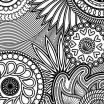 Anti Stress Coloring Pages for Adults Best Coloring Page Coloring Page Rosette Intricate Patterns Pages