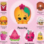 Apple Blossom Shopkin Creative Shopkins Cookie Cutters with Detail Impression