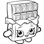 Apple Blossom Shopkin Exclusive Paysage Shopkins Coloring Pages Cheeky Chocolate Technical Design