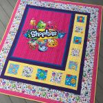 Apple Blossom Shopkin Inspired Grace and Peace Quilting Shopkins Quilt