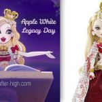 Apple White Legacy Day Awesome Ever after High Apple White Makeup Games