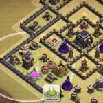 Archer tower Clash Of Clans Excellent Clash Of Clans Th8 War Base ♢ Bomb tower Anti 2 Star ♢ Defense