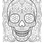Ariel Sugar Skull Inspiration Fresh tooth Coloring Page 2019
