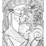 Art Deco Coloring Pages Inspired Art Deco Coloring Book Google Search