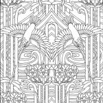 Art Deco Coloring Pages Inspiring 10 Adult Coloring Books to Help You De Stress and Self Express