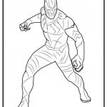 Avenger Coloring Pages Marvelous Black Panther Marvel Coloring Pages Inspirational Avengers Coloring