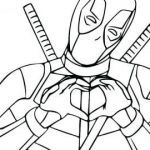 Avengers Coloring Pages Brilliant √ Deadpool Coloring Pages and Marvel Coloring Pages Fresh 0 0d