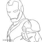 Avengers Coloring Pages Elegant Iron Man Cartoon Coloring Pages Unique Coloriage Avengers Coloring