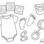 Baby Bottle Coloring Page Fresh Baby Esie Free Printable Coloring Page