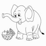 Baby Coloring Sheet Wonderful Baby Elephant Drawings Unique Fresh Home Coloring Pages Best Color