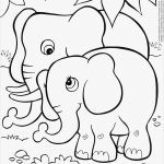 Baby Elephant Color Pages Best Inspirational Cute Coloring Pages – Jvzooreview