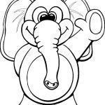 Baby Elephant Color Pages Inspiration Elephant Coloring Pages Beautiful Coloring Elephant Awesome Color
