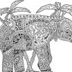 Baby Elephant Color Pages Inspiration Elephant Mandala Coloring Pages New Baby Elephant Coloring Pages